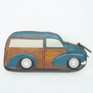 Kate Spade Woody Station Wagon Clutch Bag Purse